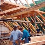 Opravy historických krovů
