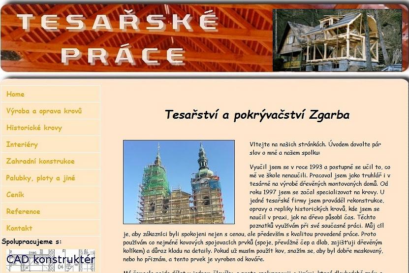 tesařství Praha